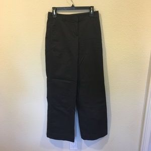 NWT Ann Taylor black wide leg pants